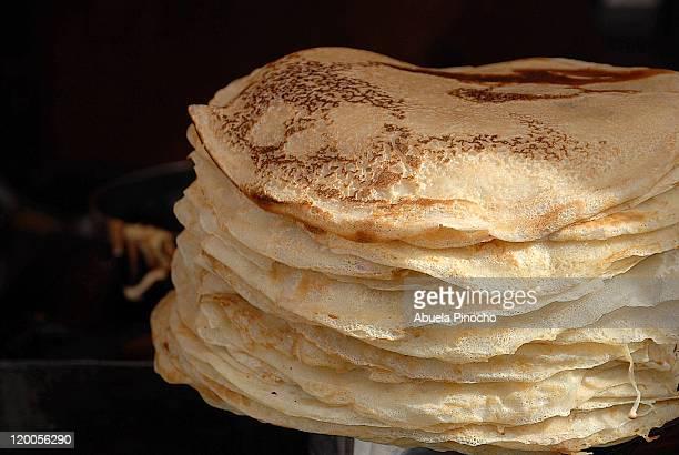 pancakes - alcala de henares stock pictures, royalty-free photos & images
