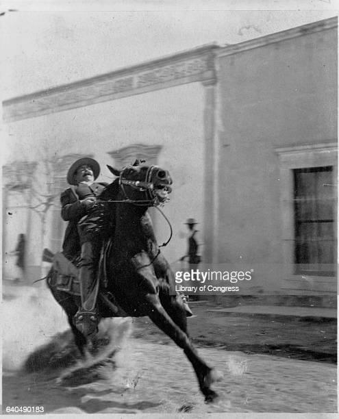 Pancho Villa Riding Horse