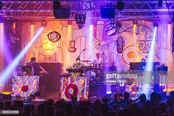 Panda Bear Geologist and Deakin of Animal Collective perform at Stylus on September 7 2016 in Leeds England