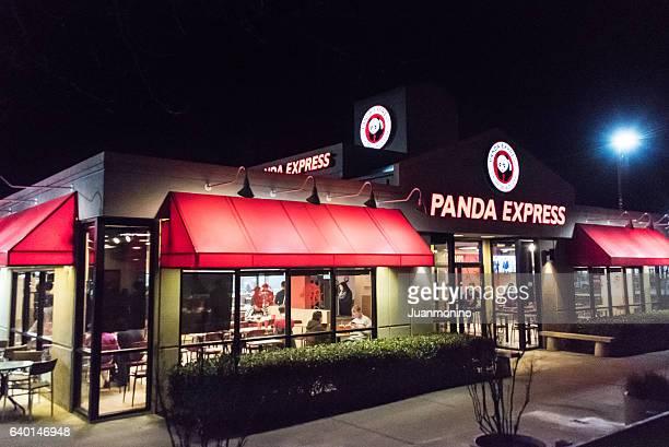 panda express restaurant - panda stock pictures, royalty-free photos & images