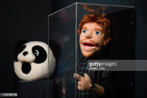 A Panda head worn by British musician Ed Sheeran in the video for I Don't Care and an Ed Sheeran puppet used the music videos for the songs Sing and...