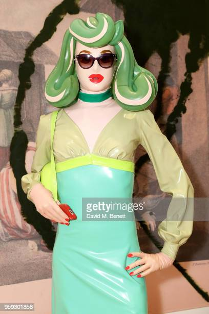 Pandemonia attends Pace Gallery Celebrates Julian Schnabel at 6 Burlington Gardens on May 16 2018 in London England