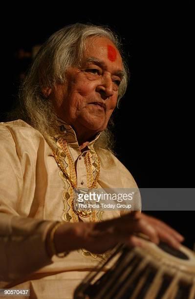 Pandit Kishan Maharaj Tabla player in New Delhi India