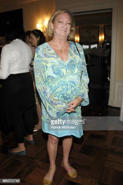 Pandora Biddle attends the Kickoff Party for the 2009 Alzheimer's Association Rita Hayworth Gala at a Private Residence on July 31 2009 in Water Mill...