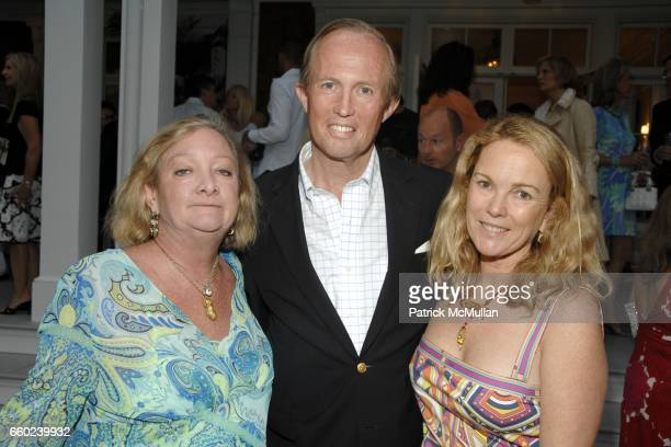 Pandora Biddle Mark Gilbertson and Anne Hearst McInerney attend the Kickoff Party for the 2009 Alzheimer's Association Rita Hayworth Gala at a...