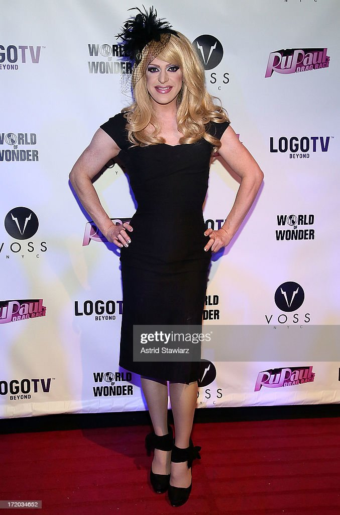 Pandora Boxx attends Logo TV's Official Pride NYC 2013 Event at Highline Ballroom on June 30, 2013 in New York City.