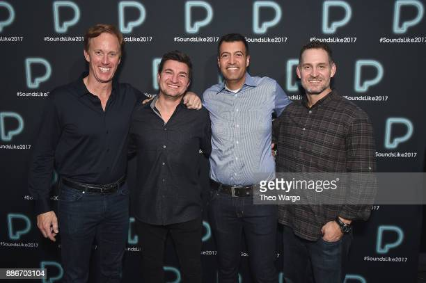 Pandora CEO Roger Lynch Pandora Artist Marketing and Industry Relations Vice President Jeff Zuchowski Pandora CFO Naveen Chopra and Pandora CPO Chris...
