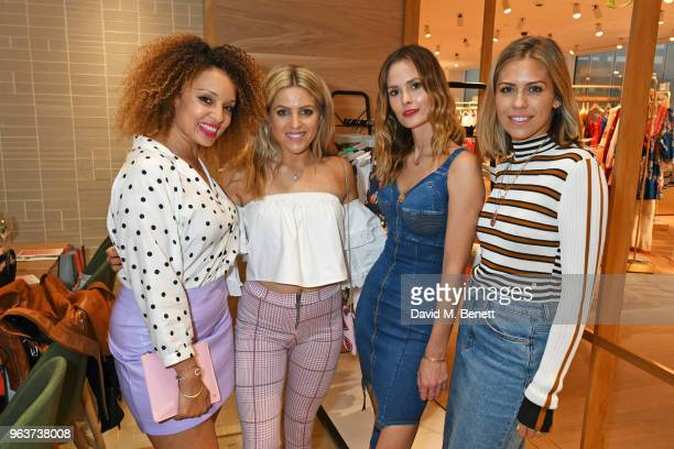 Pandora Christie Olivia Cox Charlotte de Carle and Nicki Shields attend a VIP dinner hosted by Sweaty Betty to celebrate their new Selfridges shop at...