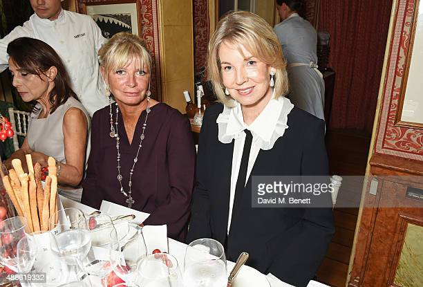 Pandora Delevingne and Hilary Weston attend the launch of the Bamford South Audley store in Mayfair on September 16 2015 in London England