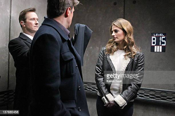CASTLE 'Pandora' In the first episode of a twopart 'Castle' event Castle and Beckett pursue a ruthless killer who they discover is part of a sinister...