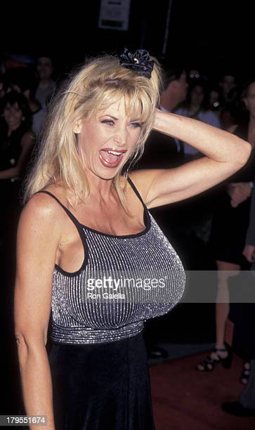 Pandora Peaks attends the premiere of Striptease on June 23 1996 at the Ziegfeld Theater in New York City