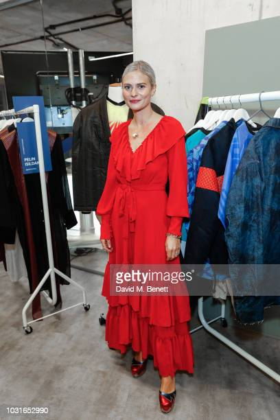 Pandora Sykes attends The House Of Peroni Fashion Talks hosted by Pandora Sykes on September 11 2018 in London England