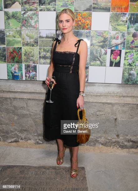 Pandora Sykes attends the Jimmy Choo Mytheresacom dinner at The Garden Museum on May 23 2017 in London England