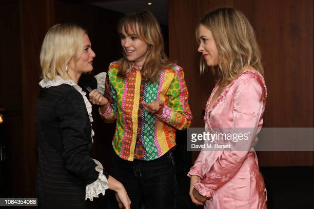 Pandora Sykes Suki Waterhouse and Poppy Jamie attend Alexa Chung's CHUNGSGIVING dinner to celebrate Thanksgiving and the launch of her exclusive...