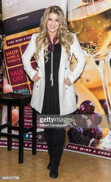 Pandora Vanderpump Sabo poses during the bottle signing of Vanderpump Rose at the Fine Wine Good Spirits Premium Collection store on April 14 2018 in...