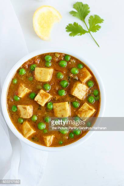 Paneer Mutter , Indian Food , India Cottage cheese and Peas