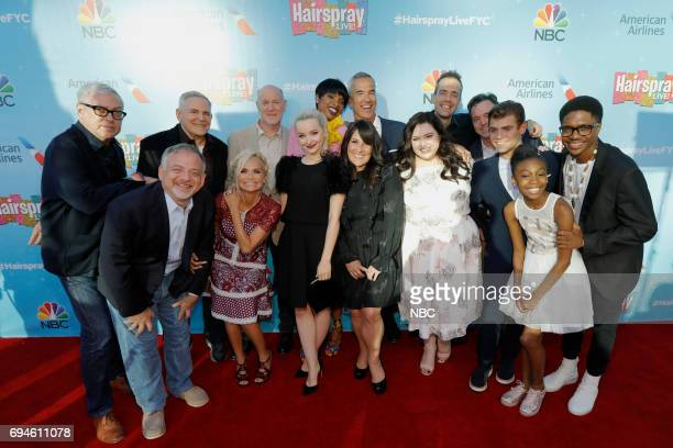 LIVE FYC Panel Discussion and Reception Pictured Back Row Scott Wittman CoLyricist Craig Zadan Executive Producer Neil Meron Executive Producer...