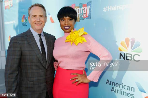 LIVE FYC Panel Discussion and Reception Pictured Robert Greenblatt Chairman NBC Entertainment Jennifer Hudson at the Saban Media Center at the...