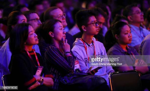 Panel discussion with Alibaba's Executive Vice Chairman of Alibaba Group Joe Tsai and SCMP Chief Executive Officer Gary Liu at Rise Conference Hong...