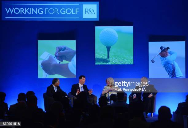 A panel discussion with David Bonsall Chairman Rules of Golf Committee The RA David Rickman Executive Director Rules and Equipment Standards The RA...