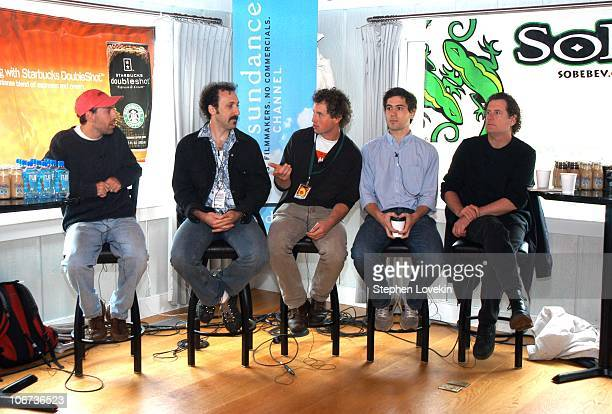 Panel from left to right Director of 'Carry Me Home' Jace Alexander Director of 'Book of Danny' Adam Yaffe Director of 'Nosey Parker' John O'Brien...