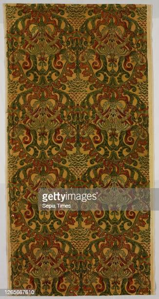 Panel , Late 1880s/early 1890s, Designed by Lewis F. Day , Produced by Turnbull & Stockdale, founded 1881, England, Ramsbottom, England, Cotton,...
