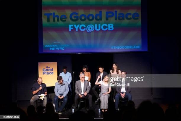 Panel Member Actors Damon Lindelof Michael Schur Ted Danson Kristan Bell Executive Producer Drew Goddard William Jackson Harper Jameela Jamil Manny...