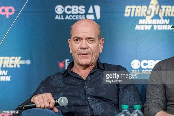 Panel member Robert Picardo on the main during Star Trek Mission New York day 3 at Javits Center on September 4 2016 in New York City