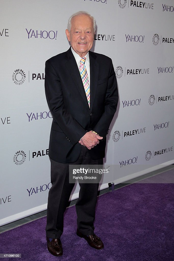 Panel moderator Bob Schieffer speaks during The Paley Center for Media presents an evening with 'Madame Secretary' at Paley Center For Media on April 27, 2015 in New York City.