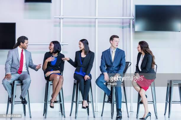 ビジネス会議での専門家のパネル