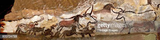 Panel of the Unicorn at Lascaux. Found in the collection of Centre national de Préhistoire .