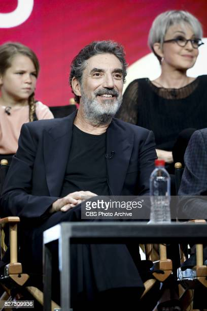 Panel session for the new CBS show YOUNG SHELDON at the TCA presentations at the Beverly Hilton Hotel in Los Angeles August 1 2017 Pictured Chuck...