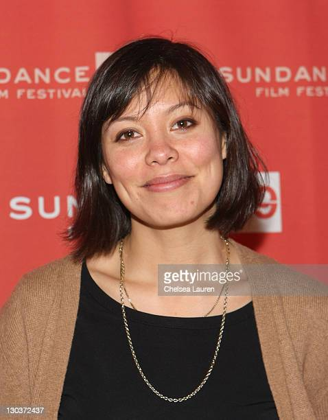 Panelist Alex Wagner attends The Culture of Change during the 2009 Sundance Film Festival at the Filmmaker Lodge on January 20 2009 in Park City Utah