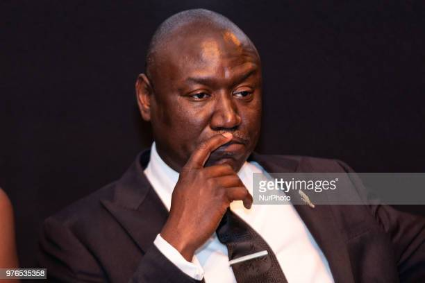 Panelist Benjamin Crump ESQ Evidence of Innocence host and civil rights attorney after the screening of TV Ones Evidence of Innocence their new...