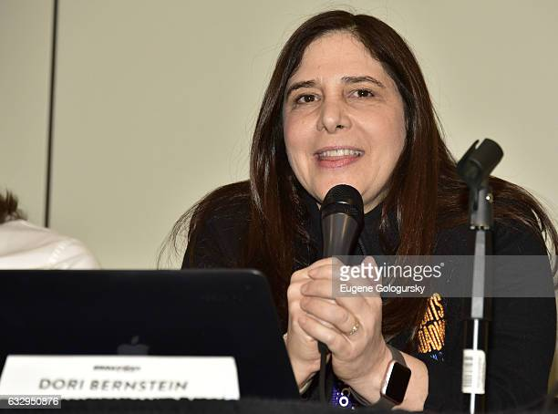 Panelist Dori Berinstein speaks at BroadwayCon 2017 at The Jacob K Javits Convention Center on January 28 2017 in New York City