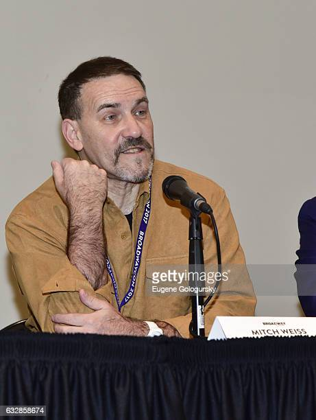 Panelist Mitch Weiss speaks at BroadwayCon 2017 at The Jacob K. Javits Convention Center on January 27, 2017 in New York City.