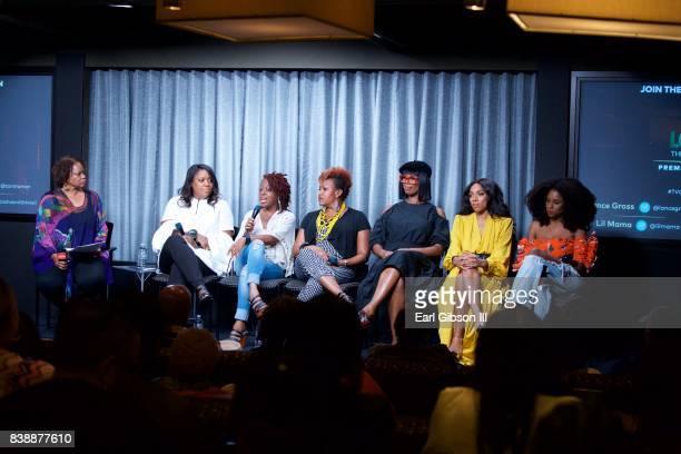 Panelist moderator Pat Prescott SVP of TV One D'Angela Proctor Cas SigersBeedles Tia A Smith director/actress Tasha Smith actress Niatia 'Lil Mama'...