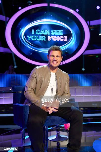 Panelist Nick Lachey behind the scenes in the series premiere episode of I CAN SEE YOUR VOICE airing Wednesday, Sept. 23 on FOX.