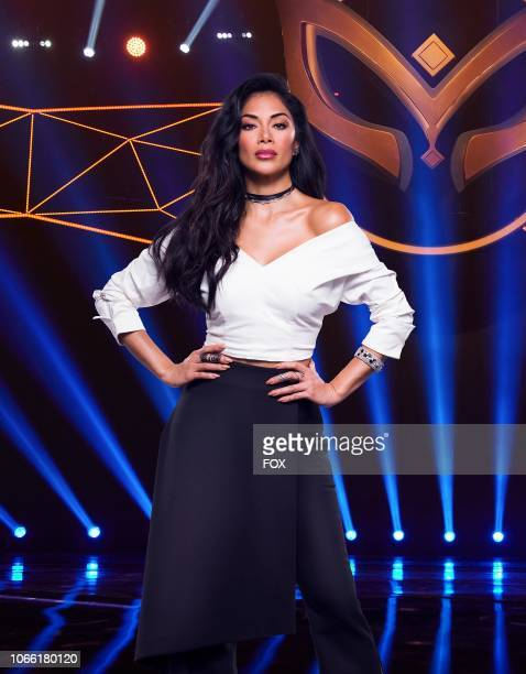 Panelist Nicole Scherzinger in THE MASKED SINGER premiering Wednesday Jan 2 on FOX