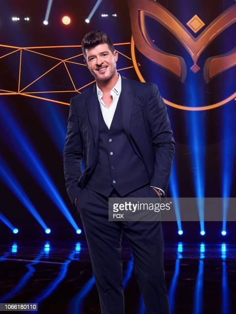 Panelist Robin Thicke in THE MASKED SINGER premiering Wednesday Jan 2 on FOX