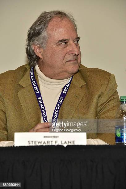 Panelist Stewart F. Lane speaks at BroadwayCon 2017 at The Jacob K. Javits Convention Center on January 28, 2017 in New York City.