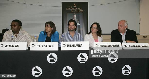 Panelists JC Collins Theresa Page Michele Vega michelle Velez and David Bercuson