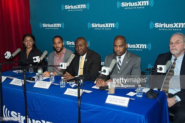 Panelists Radio Host Monalisa Weber Writer Jamiles Lartex President of National Bar Association Ben Crump NOBLE President Gregory A Thomas and Civil...