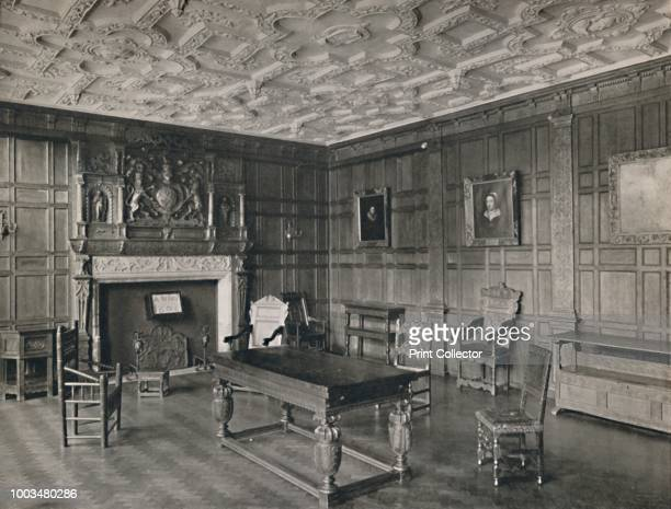 Panelled Room from the Old Palace BromleyByBow' 1927 From Old Furniture Volume I edited by LieutCol E F Strange CBE [Old Furniture Ltd London 1927]...