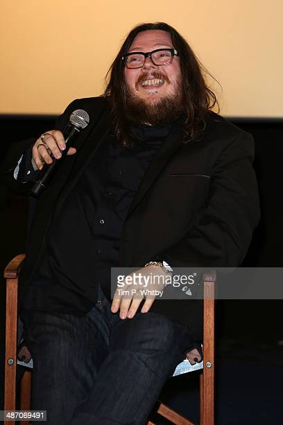 Panellist Iain Forsyth attends the 'Hybrid Vigour When Music Art Doc Collide' Panel Event during the Sundance London Film and Music Festival 2014 at...