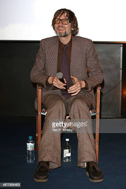 Panellist Jarvis Cocker attends the 'Hybrid Vigour When Music Art Doc Collide' Panel Event during the Sundance London Film and Music Festival 2014 at...