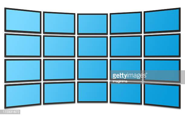 LCD Panels with Clipping Path