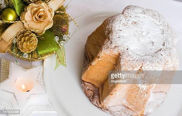 panettone, italiano dolce di natale - panettone foto e immagini stock