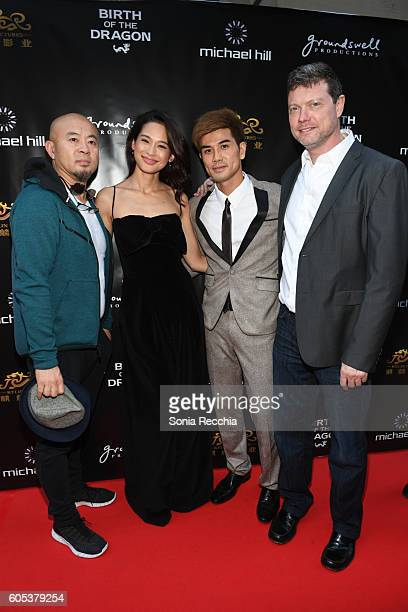 Pang Yong Jingjing Qu Philip Ng and George Nolfi attend Birth Of A Dragon TIFF premiere and afterparty on September 13 2016 in Toronto Canada