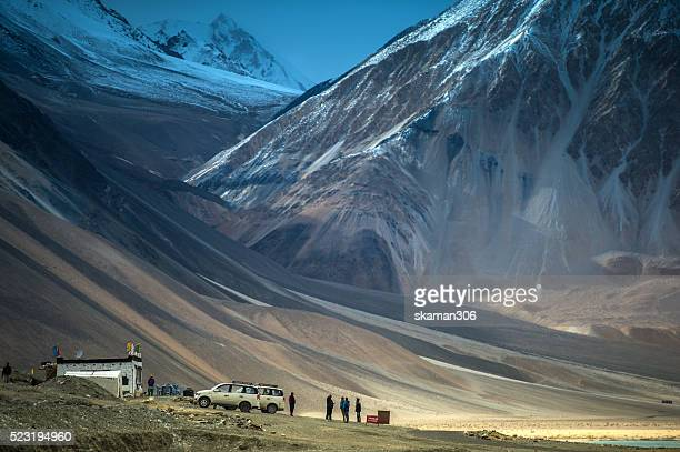 Pangong lake high lake of Himalaya Leh ladakh